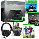 Xbox One Console With The Witcher 3 Wild Hunt, Ori & The Blind Forest, Forza 5 GOTY, FIFA 2015 & Stereo Headset