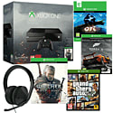 Xbox One Console With The Witcher 3 Wild Hunt, Forza 5, Ori & The Blind Forest, GTA V & Stereo Headset