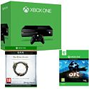 Xbox One with Ori and The Blind Forest and Elder Scrolls Online: Tamriel Unlimited Crown Edition