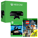 Xbox One with Ori & The Blind Forest and LEGO Jurassic World