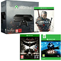 Xbox One Console With Ori & The Blind Forest, The Witcher 3 Wild Hunt & Batman Arkham Knight