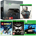 Xbox One Console With Ori & The Blind Forest, The Witcher 3 Wild Hunt, LEGO Batman 3 & Batman Arkham Knight