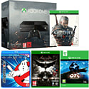 Xbox One with Ori & The Blind Forest, The Witcher 3 Wild Hunt, Batman Arkham Knight and Ghostbusters 30th Anniversary