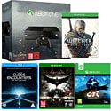 Xbox One with Ori & The Blind Forest, The Witcher 3 Wild Hunt, Batman Arkham Knight and Close Encounters of the Third Kind
