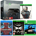 Xbox One with Ori & The Blind Forest, The Witcher 3 Wild Hunt, Batman Arkham Knight and The Amazing Spiderman