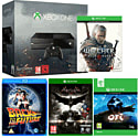 Xbox One with Ori & The Blind Forest, The Witcher 3 Wild Hunt, Batman Arkham Knight and Back to the Future
