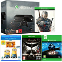 Xbox One with Ori & The Blind Forest, The Witcher 3 Wild Hunt, Batman Arkham Knight and Despicable Me 2