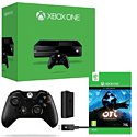 Xbox One Console With Ori & The Blind Forest, Wireless Controller & Play & Charge Kit