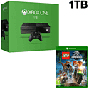 Xbox One With 1TB Hard Drive & LEGO Jurassic World