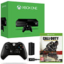 Xbox One With Call of Duty Advanced Warfare Gold Edition, Wireless Controller & Play & Charge Kit