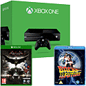 Xbox One Console With Batman Arkham Knight & Back To The Future Bluray