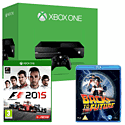 Xbox One Console With F1 2015 & Back To The Future Bluray
