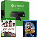 Xbox One Console With 1TB Hard Drive, F1 2015 & Back To The Future Bluray