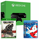 Xbox One Console With Call of Duty Advanced Warfare Gold Edition & Ghostbusters Bluray