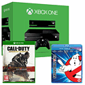 Xbox One Console With Kinect, Call of Duty Advanced Warfare Gold Edition & Ghostbusters Bluray