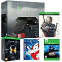 Xbox One with Ori & The Blind Forest, The Witcher 3 Wild Hunt, Halo Master Chief Collection Limited Edition and Ghostbusters