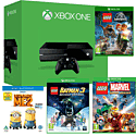 Xbox One Console With LEGO Jurassic World, LEGO Batman 3, LEGO Marvel & Despicable Me 2 Bluray
