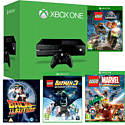 Xbox One Console With LEGO Jurassic World, LEGO Batman 3, LEGO Marvel & Back To The Future Bluray