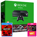 Xbox One Console With Gears of War Ultimate Edition Download, Jurassic Park Bluray & NOW TV 3 Month Entertainment Pass