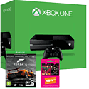 Xbox One 500GB Console With Forza 5 Game of the Year Edition Download & NOW TV 3 Month Entertainment Pass