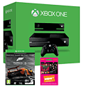 Xbox One With Kinect, Forza 5 Game of the Year Edition Download & NOW TV 3 Month Entertainment Pass