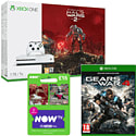 Xbox One 500GB Console With LEGO Batman 3 & NOW TV 3 Month Entertainment Pass