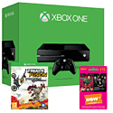 Xbox One 500GB Console With Trials Fusion Awesome Max Edition & NOW TV 3 Month Entertainment Pass