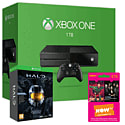 Xbox One 1TB Console With Halo Master Chief Collection Limited Edition & NOW TV 3 Month Entertainment Pass