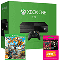 Xbox One 1TB Console With Sunset Overdrive & NOW TV 3 Month Entertainment Pass