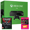 Xbox One 1TB Console With Gears of War Ultimate Edition & NOW TV 3 Month Entertainment Pass