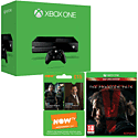 Xbox One Console with Metal Gear Solid V: The Phantom Pain Day 1 Edition and NOW TV 3 Month Entertainment Pass