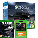 Xbox One 1TB Console With FIFA 16 Download, NOW TV 3 Month Entertainment Pass & COD Ghosts