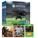 Xbox One 1TB Console With FIFA 16 Download, NOW TV 3 Month Entertainment Pass, Titanfall & Grand Theft Auto V
