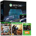 Limited Edition Forza Motorsport 6 1TB Xbox One Console With GTA V, Titanfall & 3 Month NOW TV Entertainment Pass