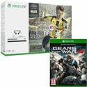 Xbox One 500GB Console With Gears of War Ultimate Edition, Titanfall & 3 Month NOW TV Entertainment Pass