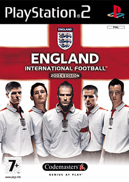 England International Football PlayStation 2