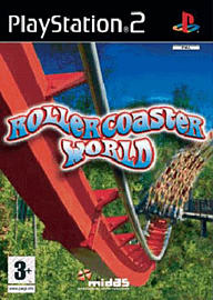 Rollercoaster World PlayStation 2 Cover Art