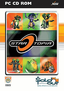 Startopia - Sold Out Range PC Games and Downloads Cover Art
