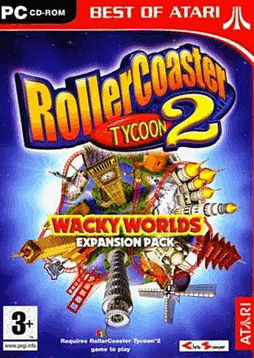 RollerCoaster Tycoon 2: Wacky Worlds Expansion Pack - Best of Atari PC Games and Downloads 