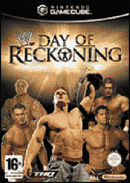 WWE Day of Reckoning GameCube Cover Art