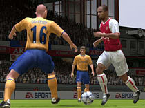 FIFA Football 2005 screen shot 1