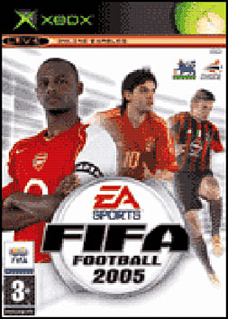 FIFA Football 2005 Xbox Cover Art