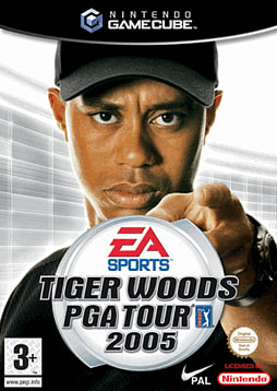 Tiger Woods PGA Tour 2005 GameCube Cover Art