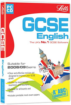 Letts GCSE English 2005/2006 PC Games Cover Art