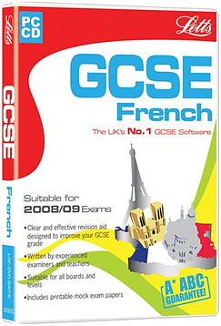 Letts GCSE French 2004/2005 PC Games Cover Art