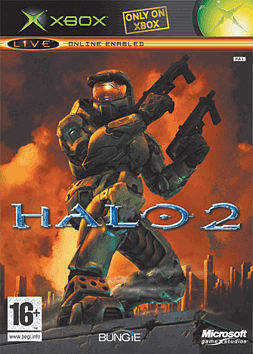 Halo 2 Xbox Cover Art