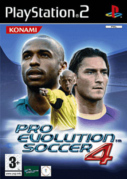 Pro Evolution Soccer 4 PlayStation 2