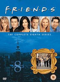 Friends: Series 8 DVD