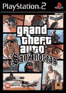 Grand Theft Auto: San Andreas PlayStation 2 Cover Art