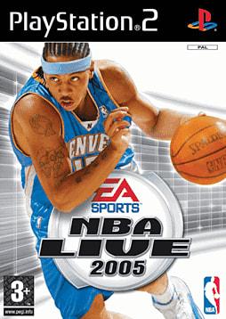 NBA Live 2005 PlayStation 2
